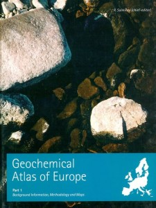 Geochemical Atlas of Europe - part 1, 2      (zestaw - 2 tomy)